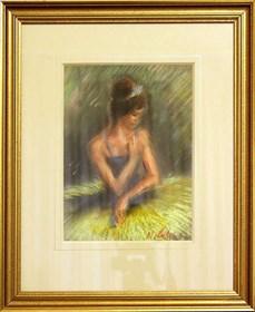 Obraz do salonu artysty Marian Adamczyk pod tytułem Tancerka 1