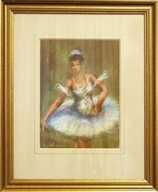 Obraz do salonu artysty Marian Adamczyk pod tytułem Tancerka 2