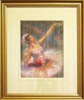 Obraz do salonu artysty Marian Adamczyk pod tytułem Tancerka 3