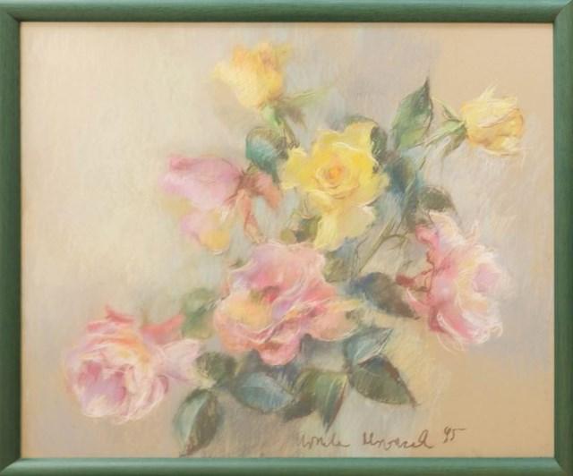 Obraz do salonu artysty Urszula Mroczek pod tytułem Róże II