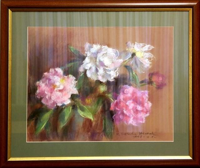 Obraz do salonu artysty Urszula Mroczek pod tytułem Kwiaty 8