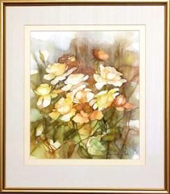 Obraz do salonu artysty Marianna Gajek pod tytułem Kwiaty 4