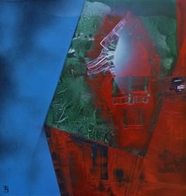 Obraz do salonu artysty Tadeusz Bronkiewicz pod tytułem bez tytułu
