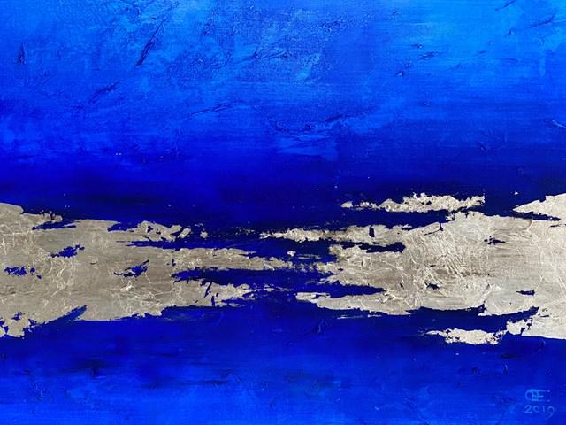 Obraz do salonu artysty Eugeniusz Ochonko pod tytułem Mar y Tierra I