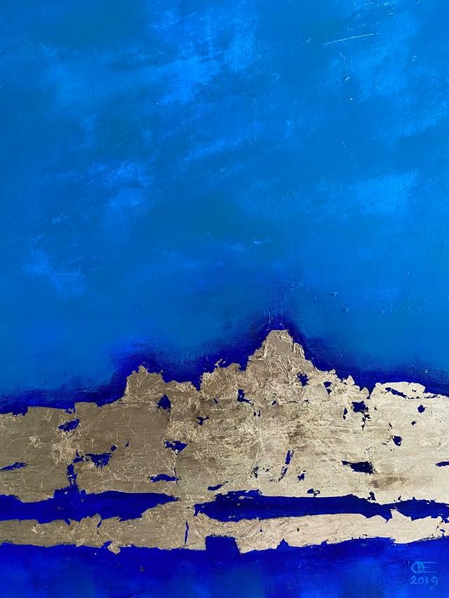 Obraz do salonu artysty Eugeniusz Ochonko pod tytułem Mar y Tierra II