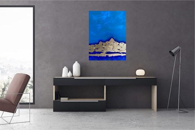 Mar y Tierra II - wizualizacja pracy autora Eugeniusz Ochonko