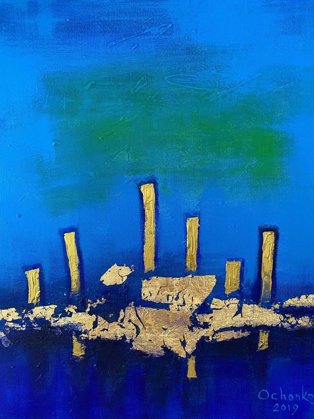 Obraz do salonu artysty Eugeniusz Ochonko pod tytułem Mar de las Calmas