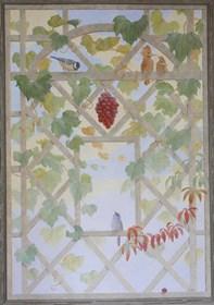 Obraz do salonu artysty Anna Kozłowska pod tytułem Pergola