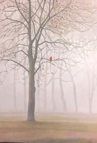 Obraz do salonu artysty Anna Kozłowska pod tytułem Jesień