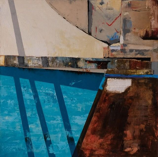 Obraz do salonu artysty Krzysztof Ryfa pod tytułem Odbicie