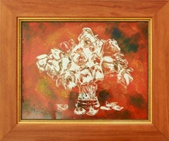 Grafika do salonu artysty Wojciech Rogosz pod tytułem Tulipany Nierealne