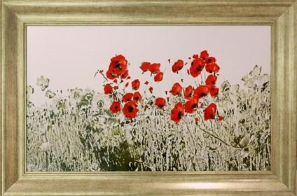 Obraz do salonu artysty Wojciech Rogosz pod tytułem Wyspa Samotnych Maków