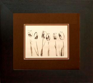 Grafika do salonu artysty Wojciech Rogosz pod tytułem Tulipanowy Porządek