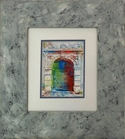 Grafika do salonu artysty Wojciech Rogosz pod tytułem Portal
