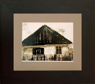 Grafika do salonu artysty Wojciech Rogosz pod tytułem Stara Chata