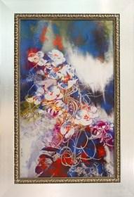 Grafika do salonu artysty Wojciech Rogosz pod tytułem Storczykowy Sen