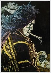 Grafika do salonu artysty Karolina Lademann pod tytułem Voistioevetz - Biała Krowa