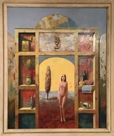 Obraz do salonu artysty Jerzy Bielecki pod tytułem Bez tytułu