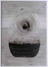 Obraz do salonu artysty Zuzanna Wiśniewska pod tytułem Horyzont zdarzeń