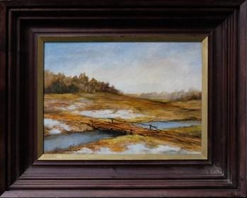 Obraz do salonu artysty Stanisław Frydlewicz pod tytułem Pejzaż 2