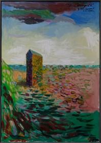 Obraz do salonu artysty Władysław Zaporowski pod tytułem Terra incognito