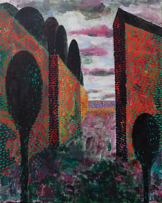 Obraz do salonu artysty Władysław Zaporowski pod tytułem Droga nad morze