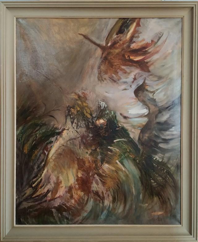 Obraz do salonu artysty Aldona Zając pod tytułem Ptaki