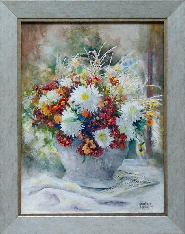Obraz do salonu artysty Anna Sandecka-Ląkocy pod tytułem Bukiet