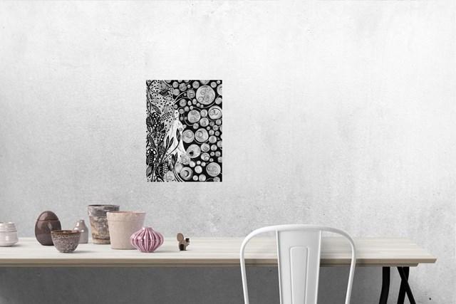 Unieś się ze sztuką. - wizualizacja pracy autora Magdalena Szata