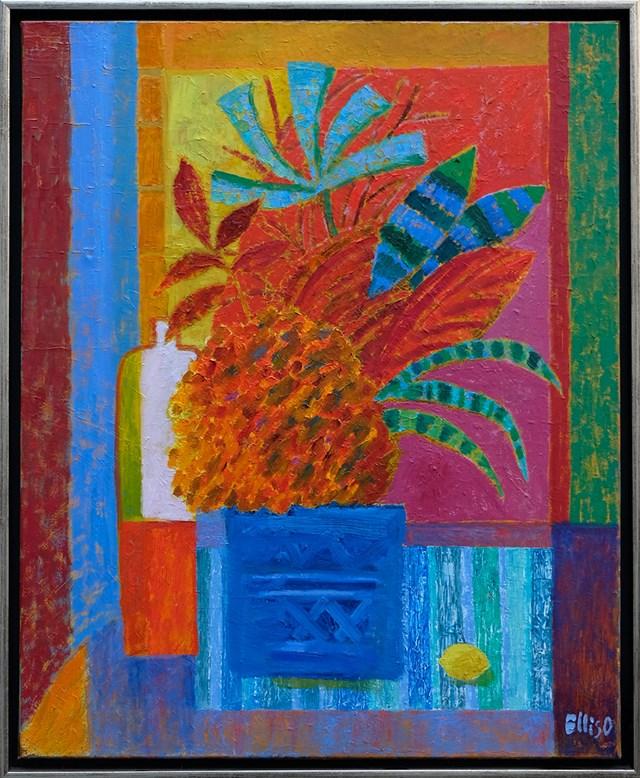 Obraz do salonu artysty Elżbieta Ostrowska-Łysak pod tytułem Bukiet