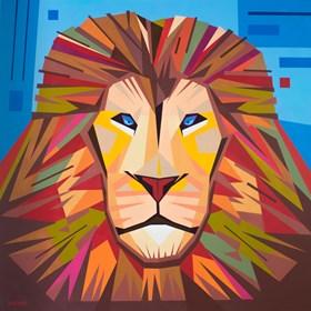 Obraz do salonu artysty Artur Marciniszyn (KOCUR 1) pod tytułem KING