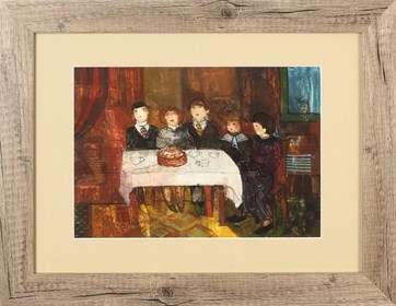 Obraz do salonu artysty Małgorzata Rozmarynowska pod tytułem Urodziny