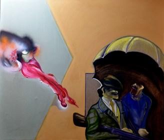 Obraz do salonu artysty Marcin Lipiec pod tytułem klasa wyższa