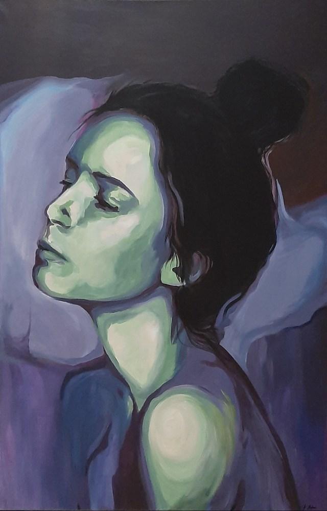 Obraz do salonu artysty Katarzyna Łagódka pod tytułem Ona