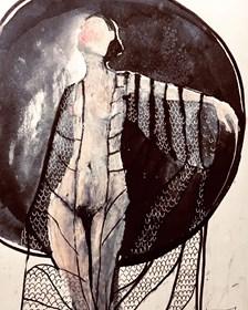 Obraz do salonu artysty Iwona Ligęza pod tytułem Nów