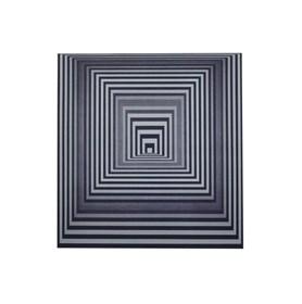 Grafika do salonu artysty Victor Vasarely pod tytułem vonal-4