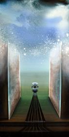 Obraz do salonu artysty Katarzyna Rutkowska pod tytułem Tron