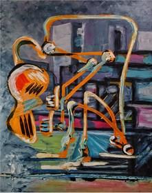 Obraz do salonu artysty Wojciech Mazek pod tytułem Jest Dobrze