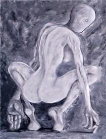 Obraz do salonu artysty Wojciech Mazek pod tytułem Donna Grey