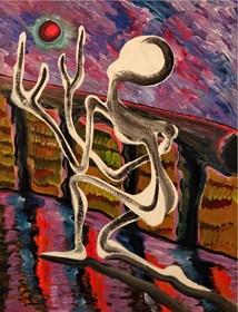 Obraz do salonu artysty Wojciech Mazek pod tytułem Modlitwa