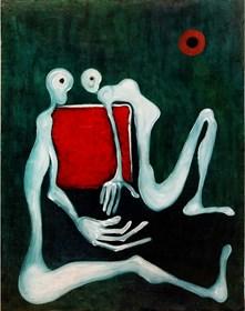 Obraz do salonu artysty Wojciech Mazek pod tytułem ZMIERZCH