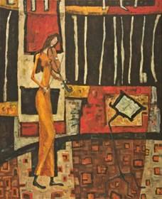 Obraz do salonu artysty Barbara Bakalarska pod tytułem Koncert