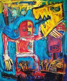 Obraz do salonu artysty Michał Ostrowski pod tytułem George