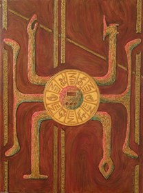 Obraz do salonu artysty Barbara Trojanowska pod tytułem Mo Ga Su