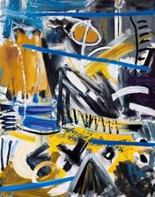 Obraz do salonu artysty Maciej Cieśla pod tytułem Abstrakcja inspirowana muzyką- Sonny Rollins II