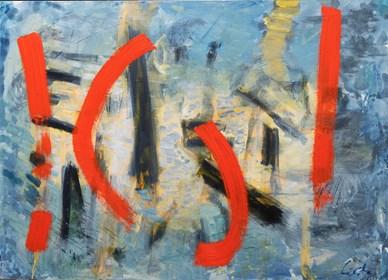 Obraz do salonu artysty Maciej Cieśla pod tytułem Abstrakcja inspirowana muzyką- Sonny Rollins