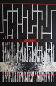 Obraz do salonu artysty Ewelina Grabowska pod tytułem Labirynt