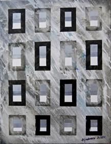 Obraz do salonu artysty Andrzej Grabowski pod tytułem Silver windows