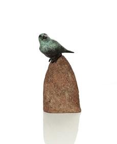 Living room sculpture by Dariusz Wieczerzak titled Sparrow