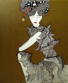 Obraz do salonu artysty Agata Bajszczak pod tytułem Me, myself and I 8